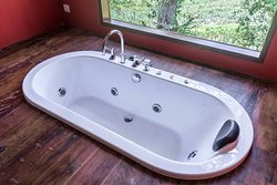 Jacuzzi at Villa Iseh by WHM suites