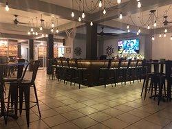 Nuestra area de barra Our Bar area