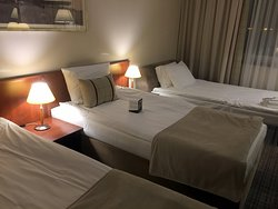 Comfortable beds , rooms are very clean as the entire hotel.