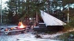 住客可以使用的公共戶外火盆