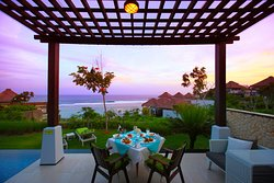 Are you ready to step through your villa door and discover a world-class cuisine served in your table with a mesmerizing view?  BOOK your villa now https://www.samabe.com/en/luxury-bali-villas/