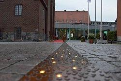 Entrén till Kulturkvarteret Kristianstad