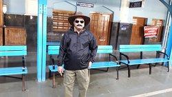 Myself at Ooty Rail Station