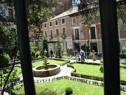 Cervantes house in Valladolid-the coutyard