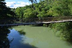 Sipatan twin hanging bridge