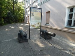 Pavel Obukhov - replica of first Russian cannons made in 1860
