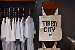 Tired City Hang Bong - Tired City Tote Bag Insde