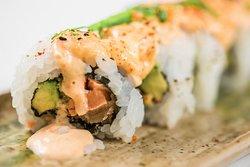Maki sishi de buey de mar picante