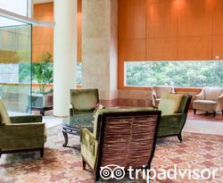 Lobby at The Ritz-Carlton, Millenia Singapore