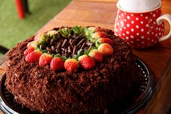 Torta Emperador, Tripe chocolate