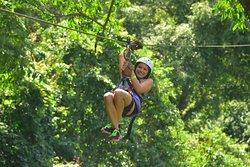 Zip Line Tour at Vista Los Sueños Adventure Park!