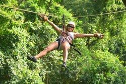 Zip Line at Vista Los Sueños Adventure Park!