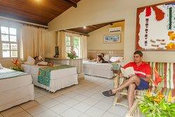 Chalé Master com conforto e espaço para toda a família