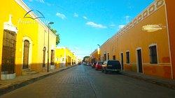 Streets of Izamal, characteristic color