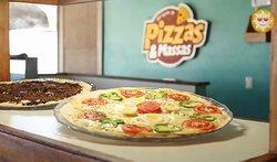 Estação de pizzas e massas dentro do sistema all inclusive.