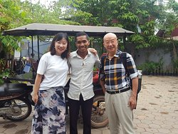 Amazing tour with daughter and father from  China