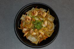 Shrimp Ramen Stir Fry