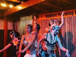 Belly dancers perform every Sunday night