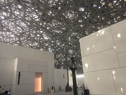 The domed roof of the museum...breathtaking!