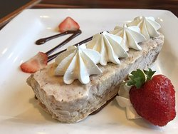 Peanut butter mousse ice cream cake