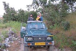 Jungle safari in Corbett national park