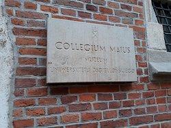 Cracovia, Polonia, Jagiellonian University - Collegium Maius.