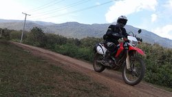 Indochina motorbike tours - Andrew Willers and friends - Northern Laos motorbike tour