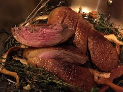 Excellent French Duck two ways at Voyages by Alain Ducasse