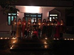 Celebrating Diwali!