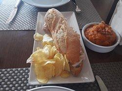 pollo y patatas