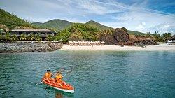 Resort activities/ Kayaking