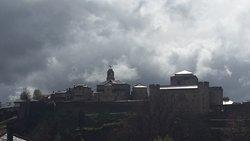 Vista de La Puebla de Sanabria desde la habitación