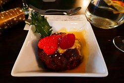 Home made Christmas pudding - best we have ever tasted in a restaurant