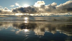 Our local beach - 15 mins walk away
