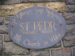 Church of St. Peter/St. Pedr (Pwllheli)