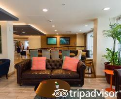 Lobby at the Vive Hotel Waikiki