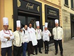 Gli chef associazione cuochi fiorentini in visita