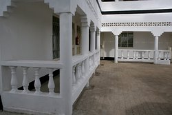 Siaya White Hotel Lobby Entrance