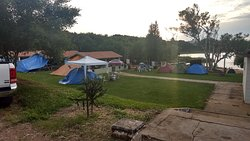 Área de barracas