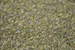 Local fennel seeds.