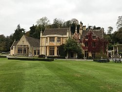 The Manor house in Castle Combe.