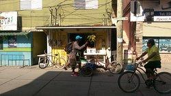 Steet food in San pedro
