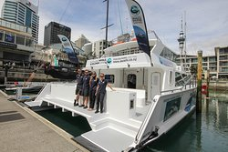 Departs direct from the Viaduct harbour - central Auckland!