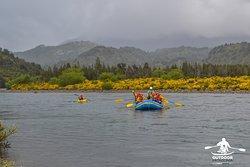 OutdoorPatagonia rafting en la Patagonia Chilena en Futaleufú.