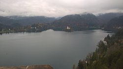 Lake from Bled Castle