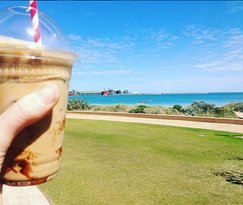 Coffee by the beach? Yes please!