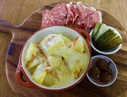 Raclette platter