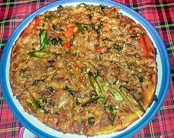 Thai Italian pizza