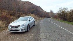 Road to Noravank