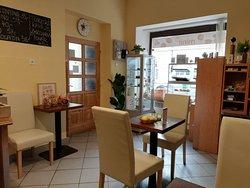 Interier kavárny